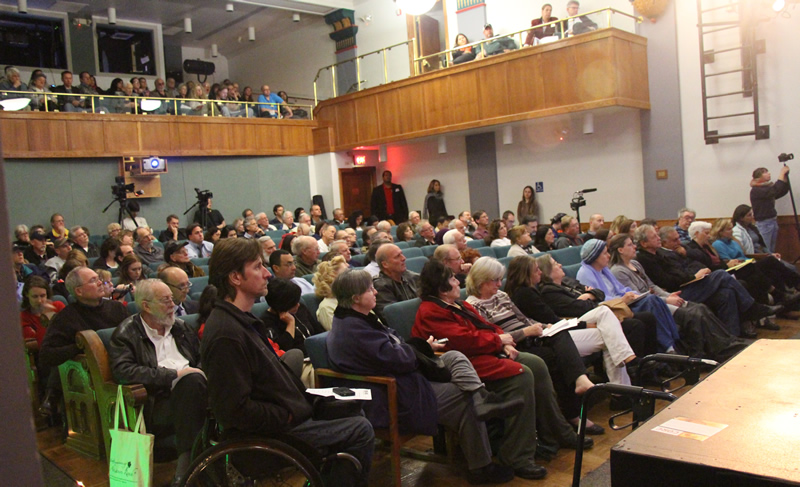 This is what community looks like! SSFL Work Group draws capacity crowd Feb. 5