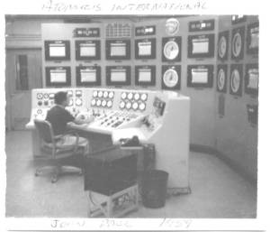 John Pace running reactor at Atomics International 1959
